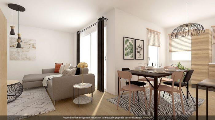 T5 EN ATTIQUE DANS IMMEULE NEUF AVEC TERRASSE - Devenez propriétaire en toute confiance - Bintz Immobilier
