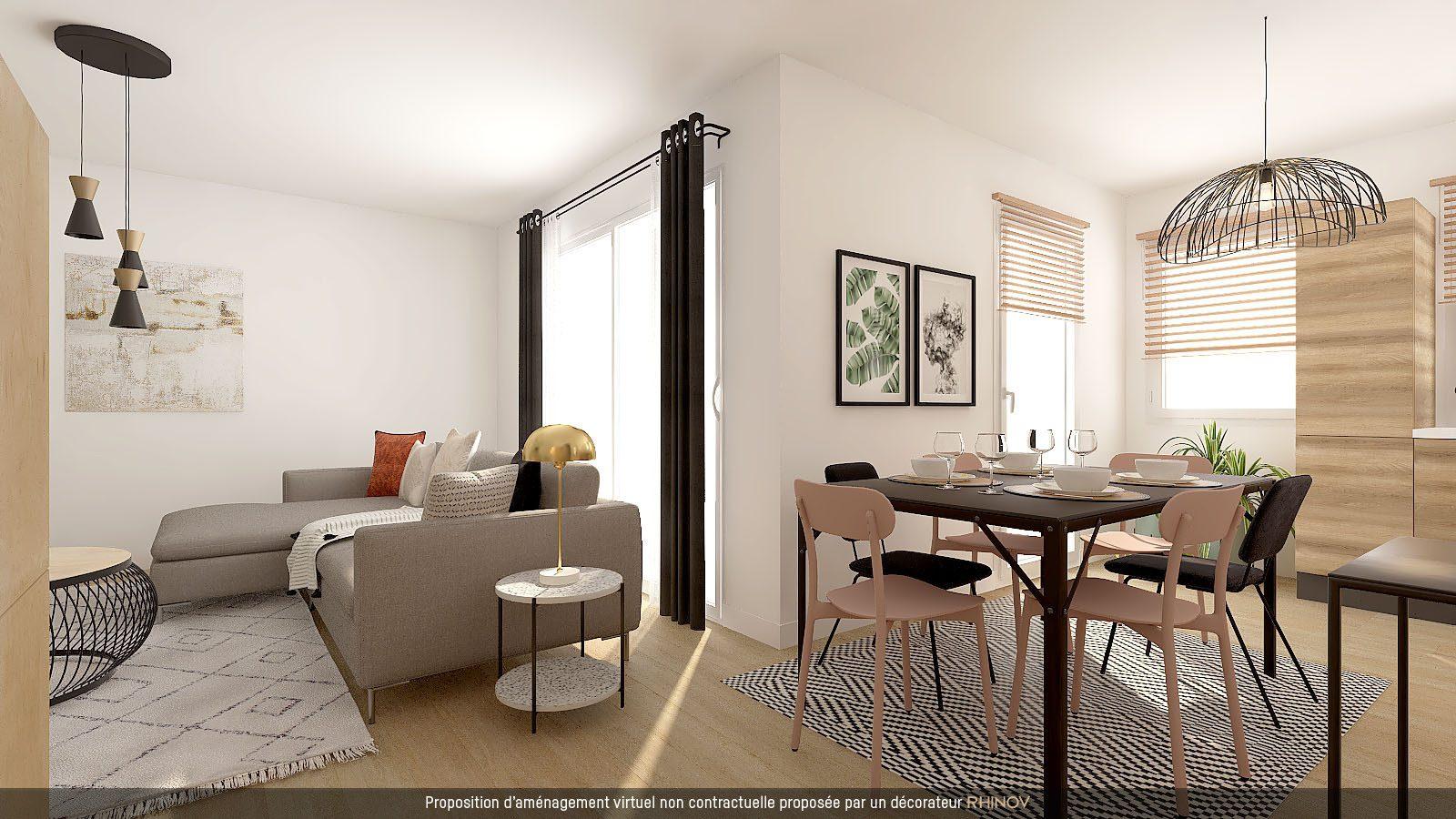 T5 EN ATTIQUE DANS IMMEULE NEUF AVEC TERRASSE - Devenez propriétaire en toute confiance - Bintz Immobilier - 1