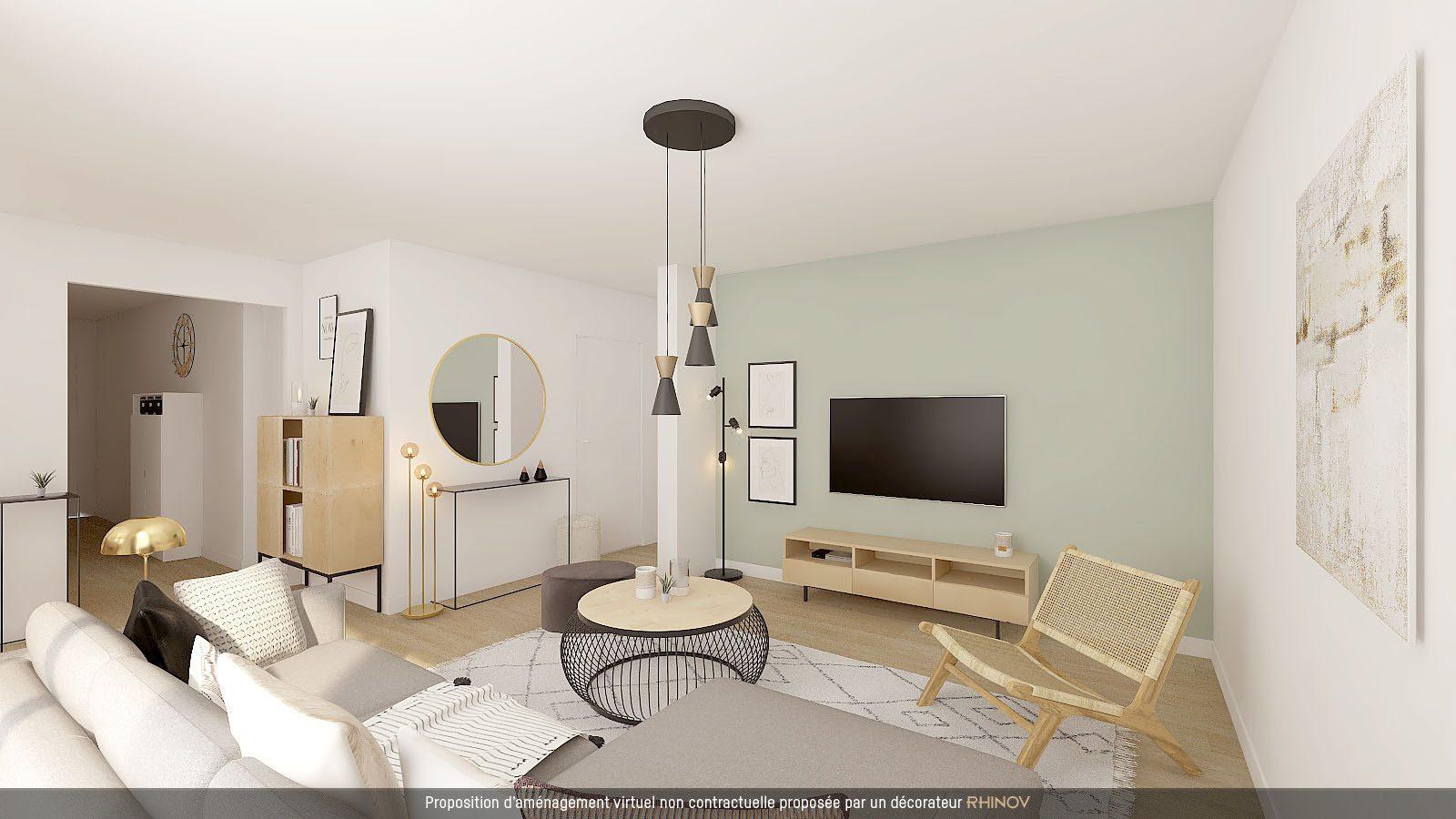 T3/4 AVEC BALCON DANS IMMEULE NEUF - Devenez propriétaire en toute confiance - Bintz Immobilier - 2