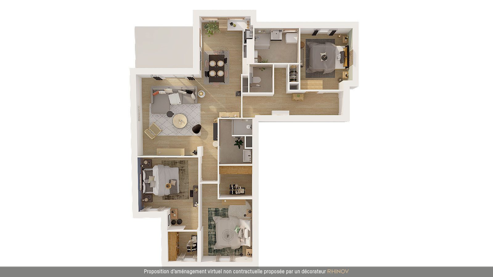 T4/5 DANS IMMEULE NEUF AVEC BALCON - Devenez propriétaire en toute confiance - Bintz Immobilier - 9