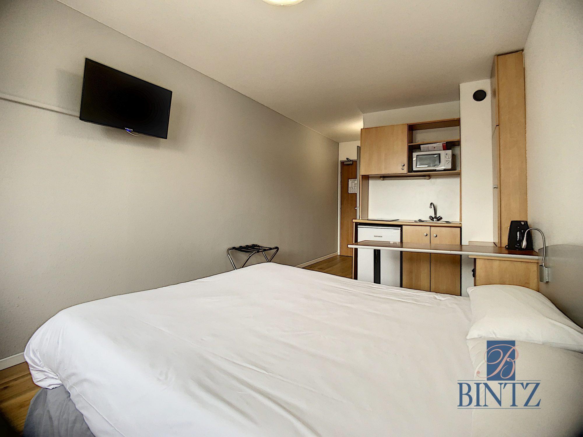 Studio en résidence hôtelière - Devenez propriétaire en toute confiance - Bintz Immobilier - 2
