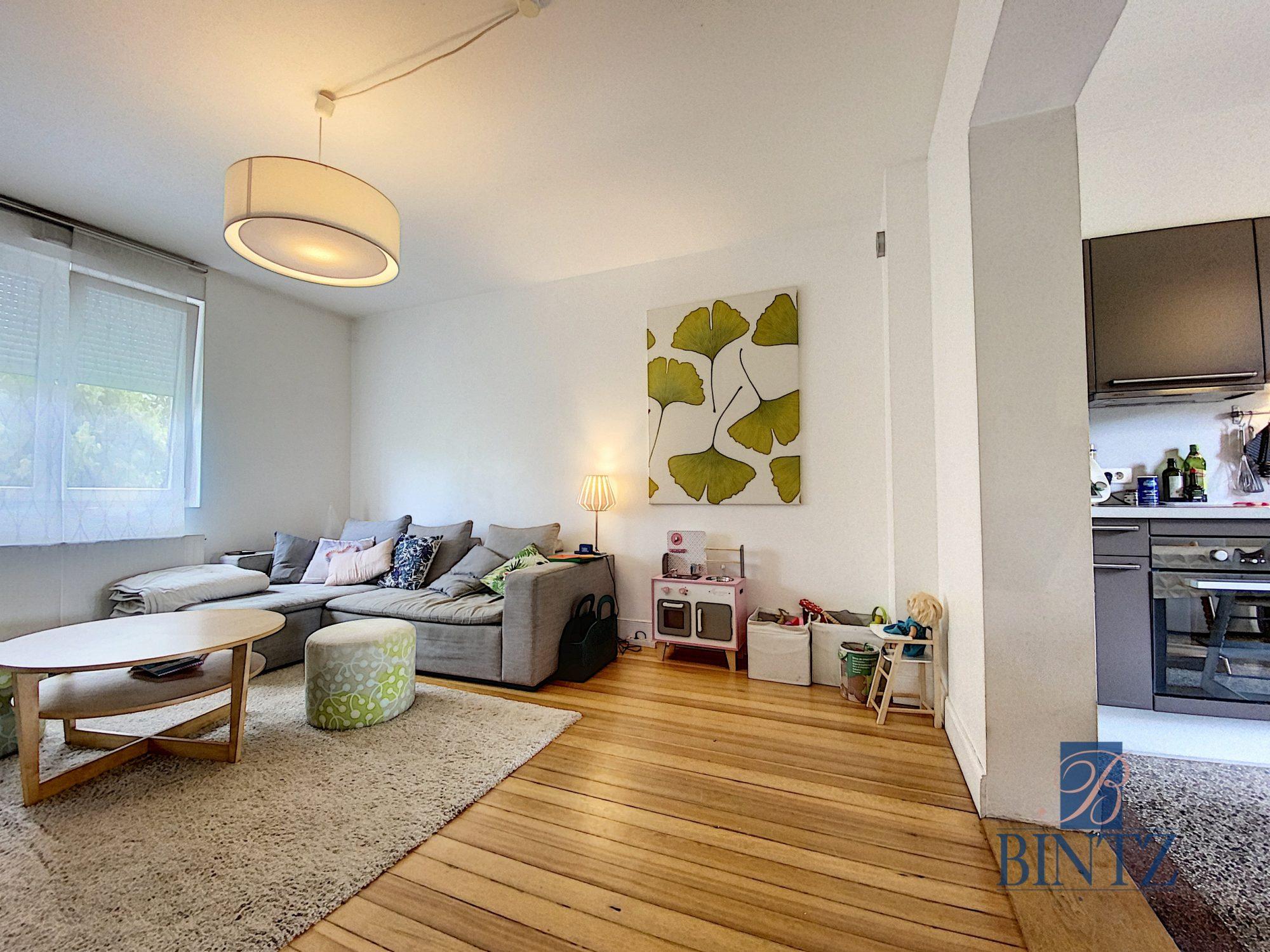 3 pièces avec terrasse à la Robertsau - Devenez propriétaire en toute confiance - Bintz Immobilier - 3