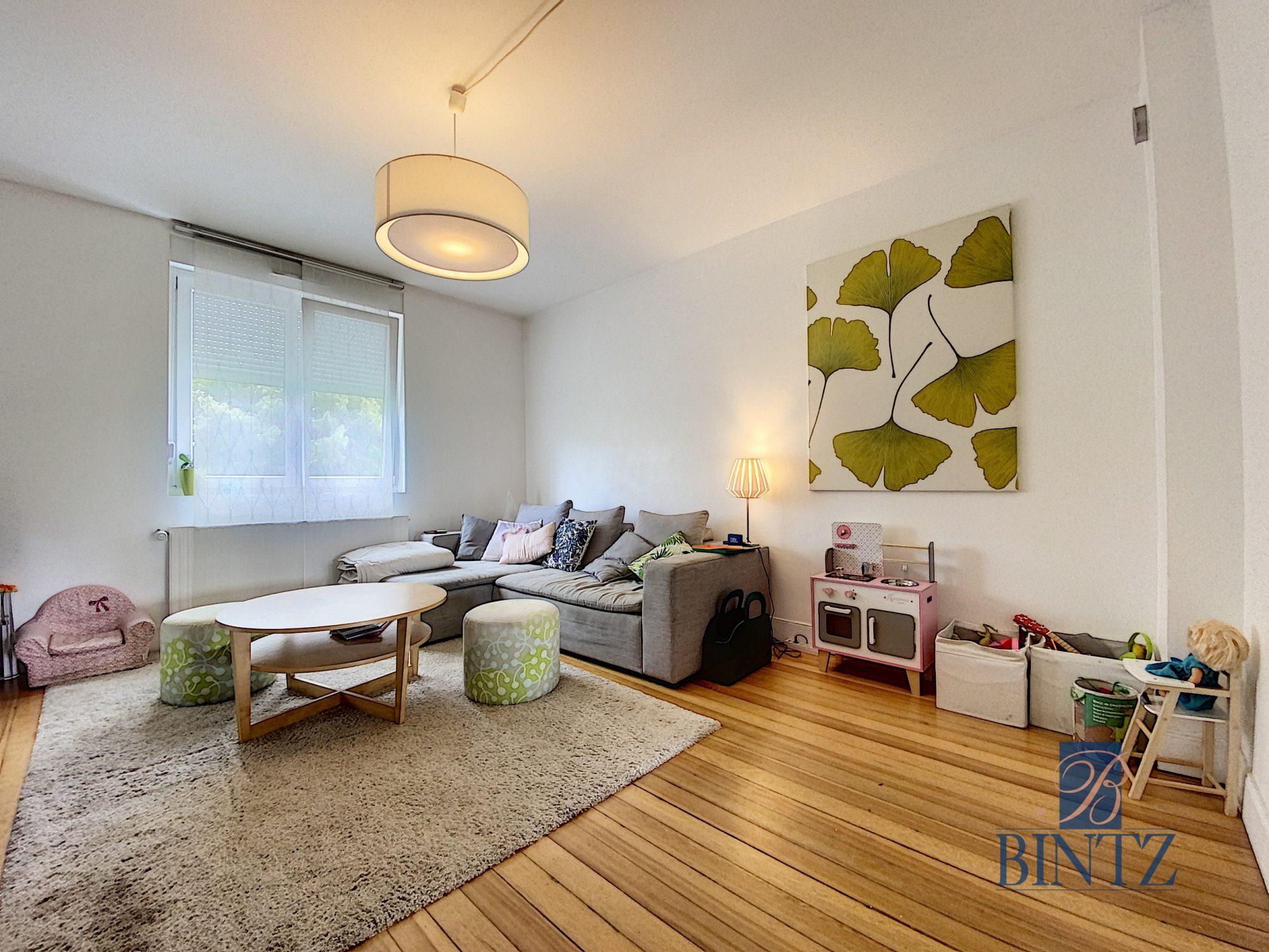 3 pièces avec terrasse à la Robertsau - Devenez propriétaire en toute confiance - Bintz Immobilier - 1