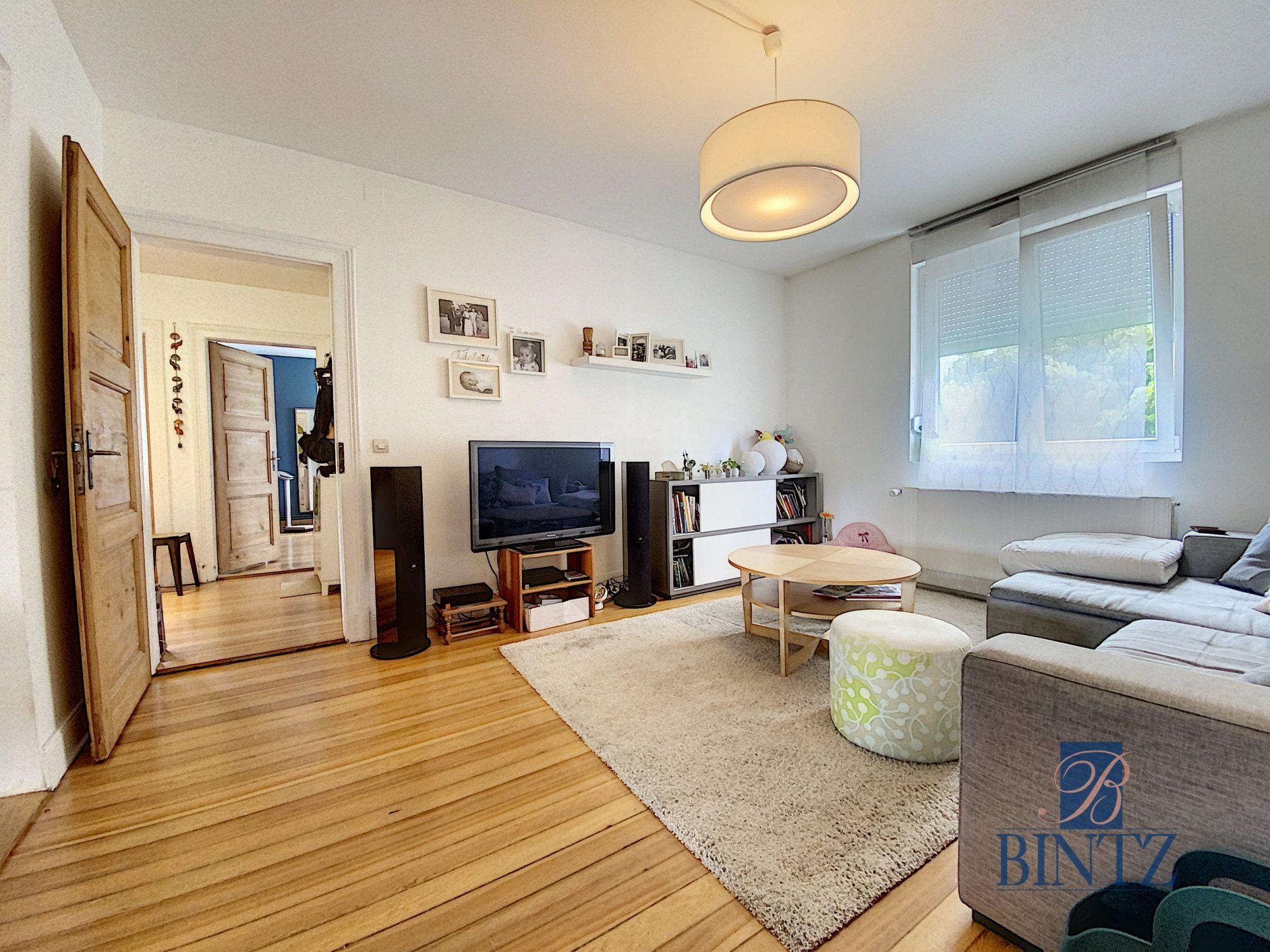 3 pièces avec terrasse à la Robertsau - Devenez propriétaire en toute confiance - Bintz Immobilier - 2