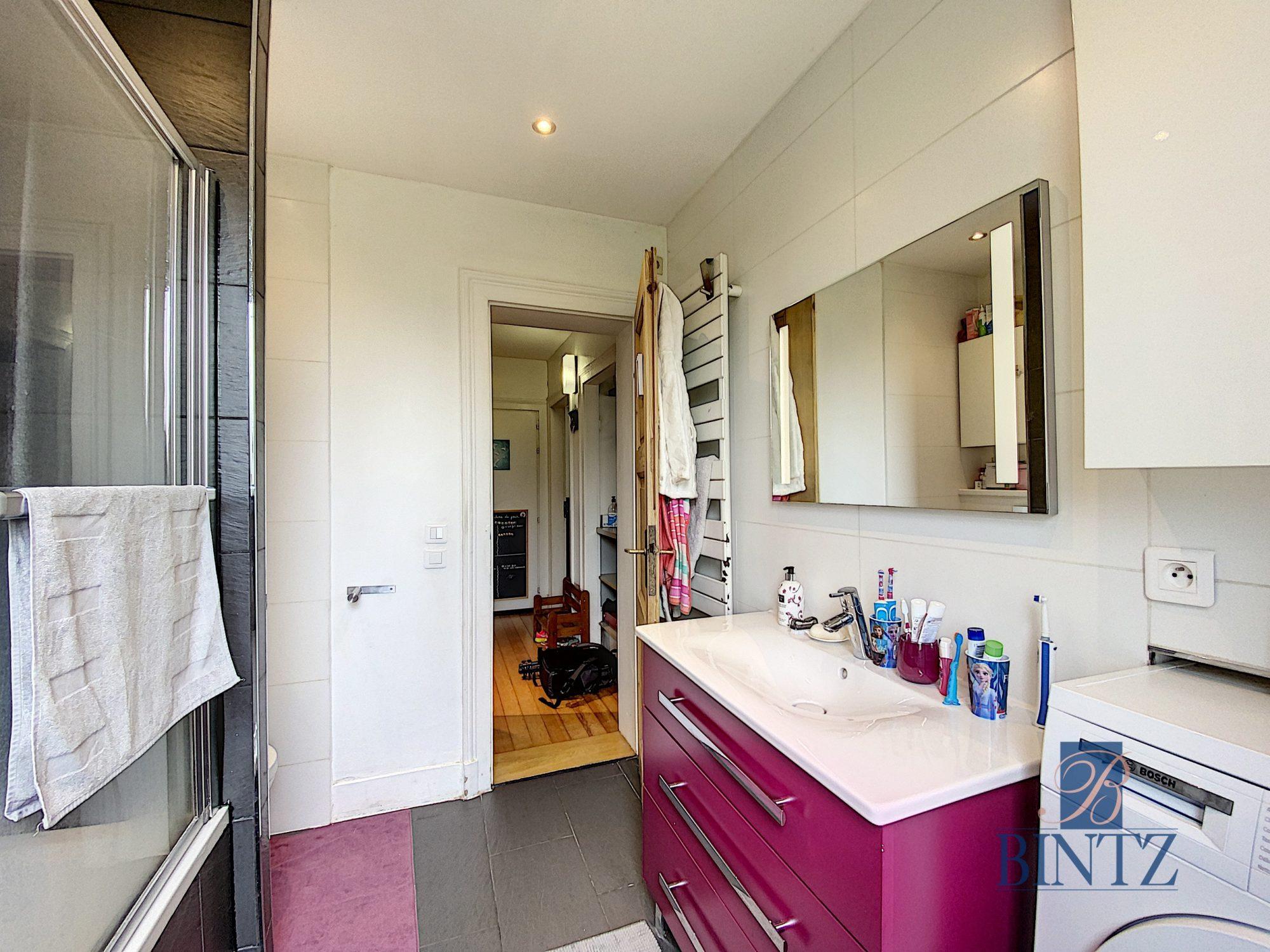 3 pièces avec terrasse à la Robertsau - Devenez propriétaire en toute confiance - Bintz Immobilier - 17