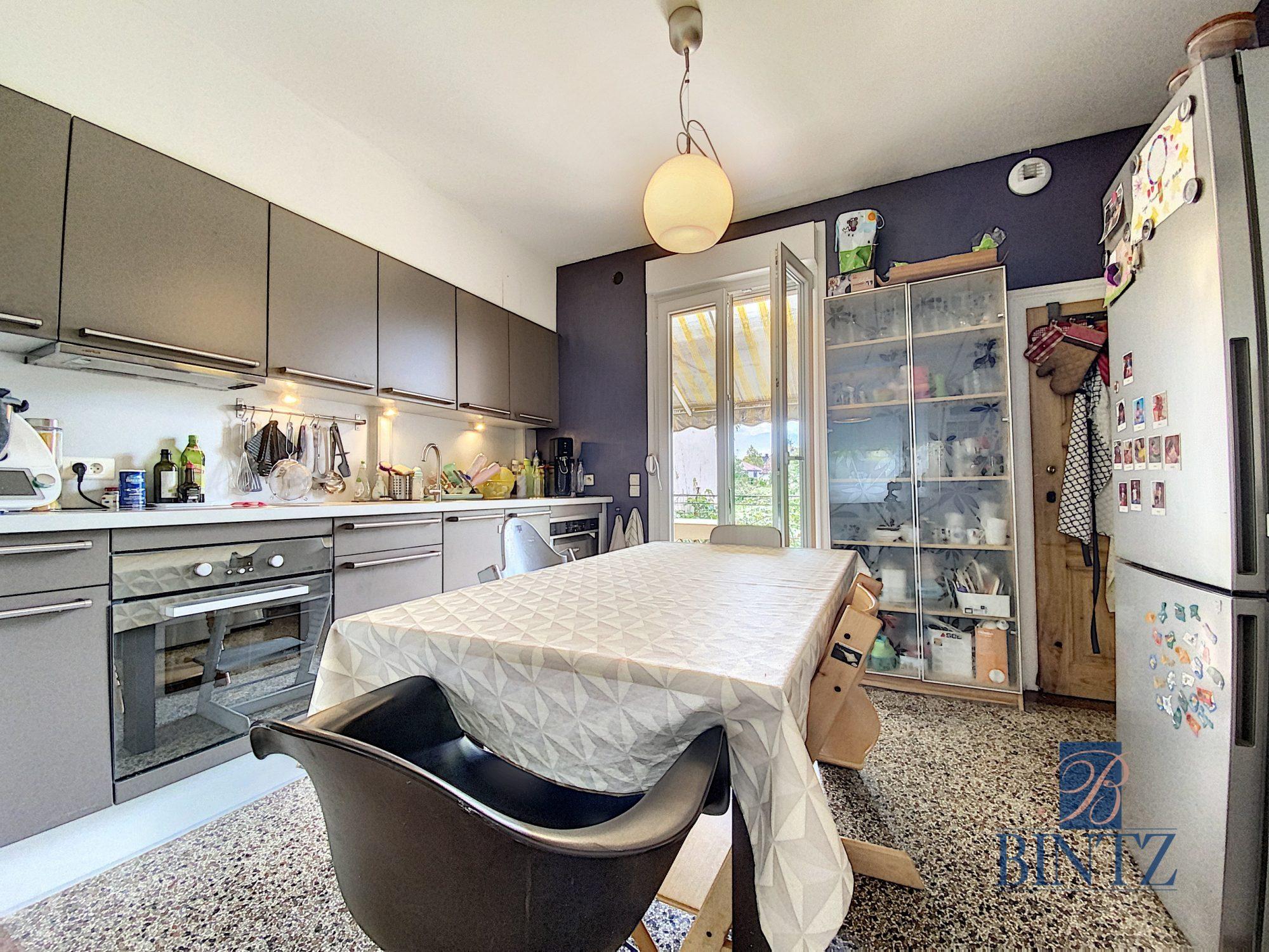 3 pièces avec terrasse à la Robertsau - Devenez propriétaire en toute confiance - Bintz Immobilier - 4