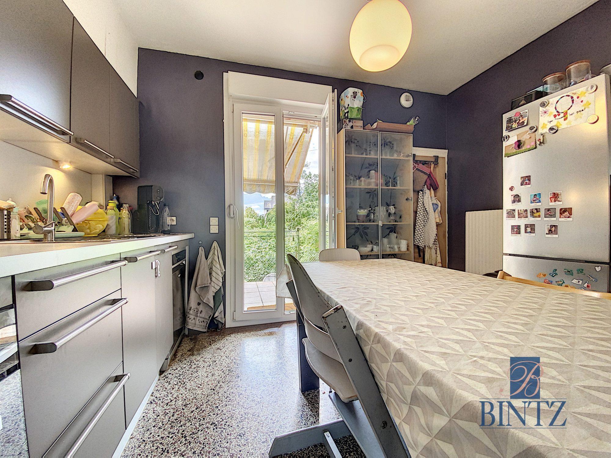 3 pièces avec terrasse à la Robertsau - Devenez propriétaire en toute confiance - Bintz Immobilier - 5
