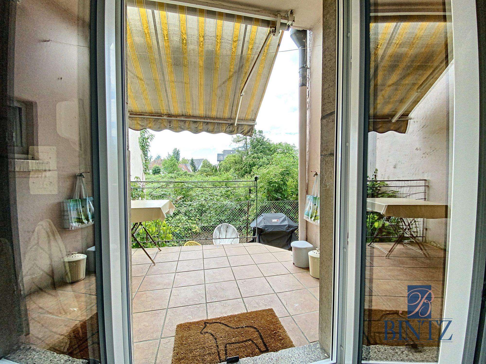 3 pièces avec terrasse à la Robertsau - Devenez propriétaire en toute confiance - Bintz Immobilier - 6