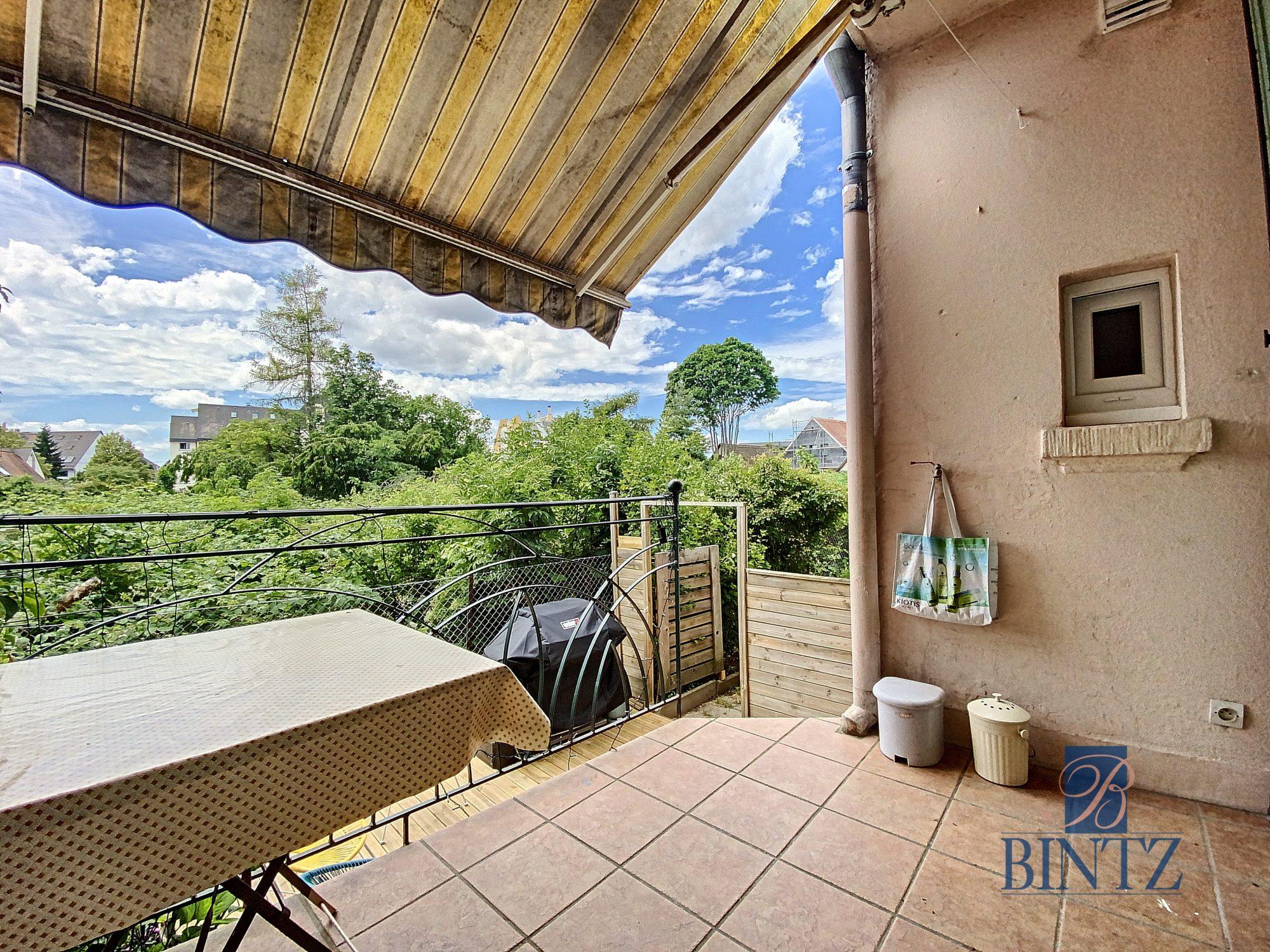 3 pièces avec terrasse à la Robertsau - Devenez propriétaire en toute confiance - Bintz Immobilier - 18