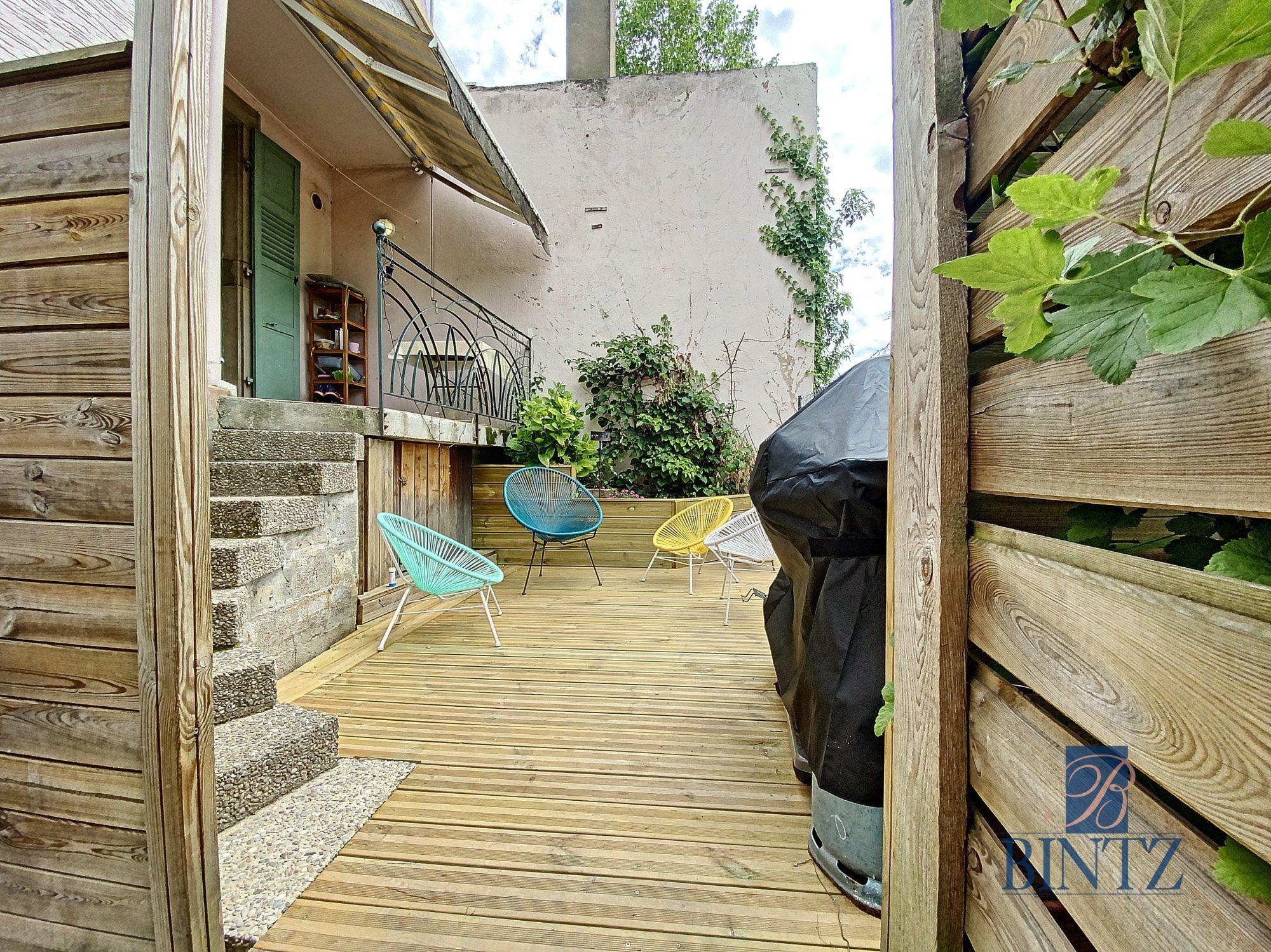 3 pièces avec terrasse à la Robertsau - Devenez propriétaire en toute confiance - Bintz Immobilier - 20