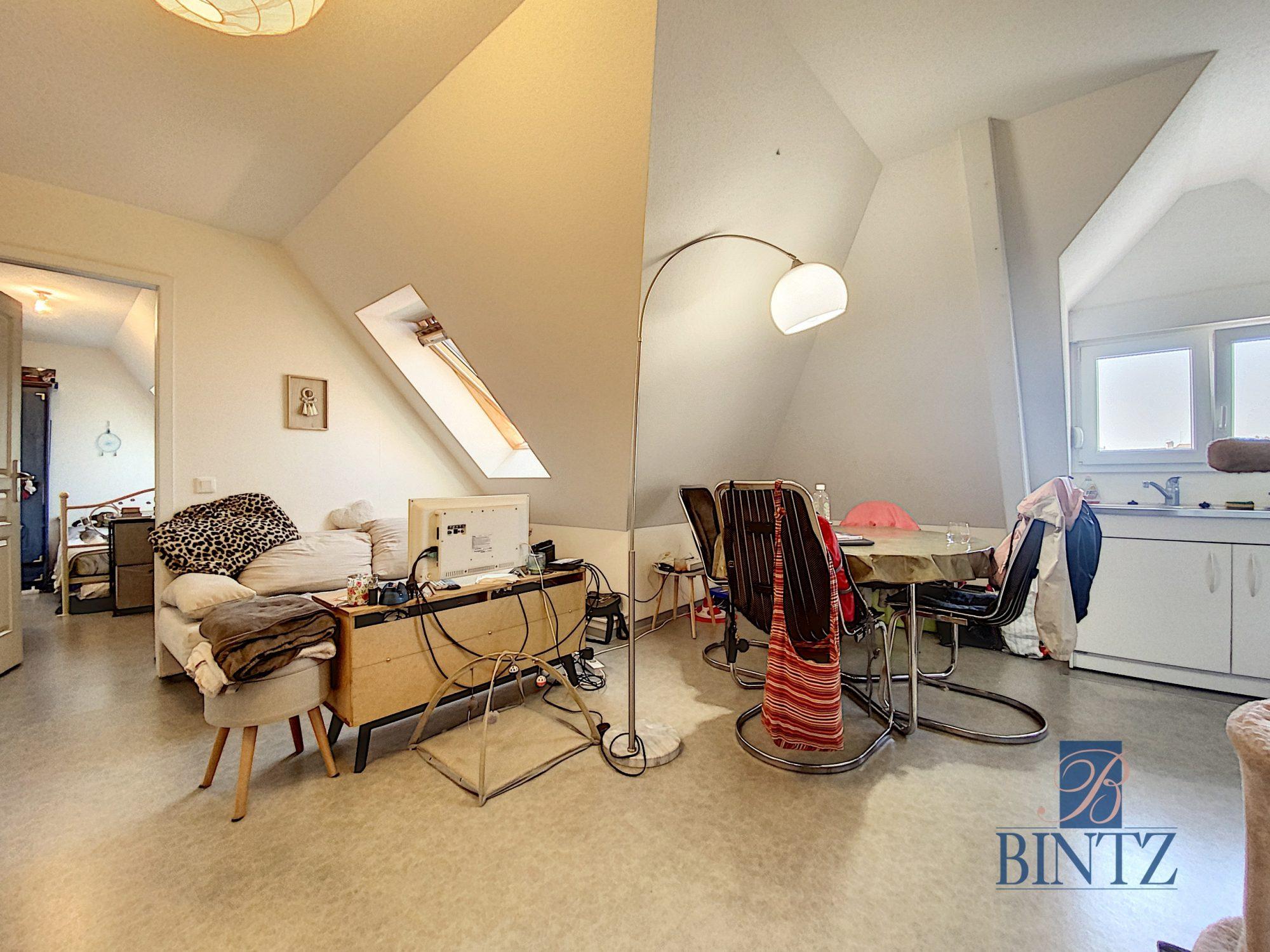 2 PIÈCES AVEC PARKING SCHILTIGHEIM - Devenez propriétaire en toute confiance - Bintz Immobilier - 1