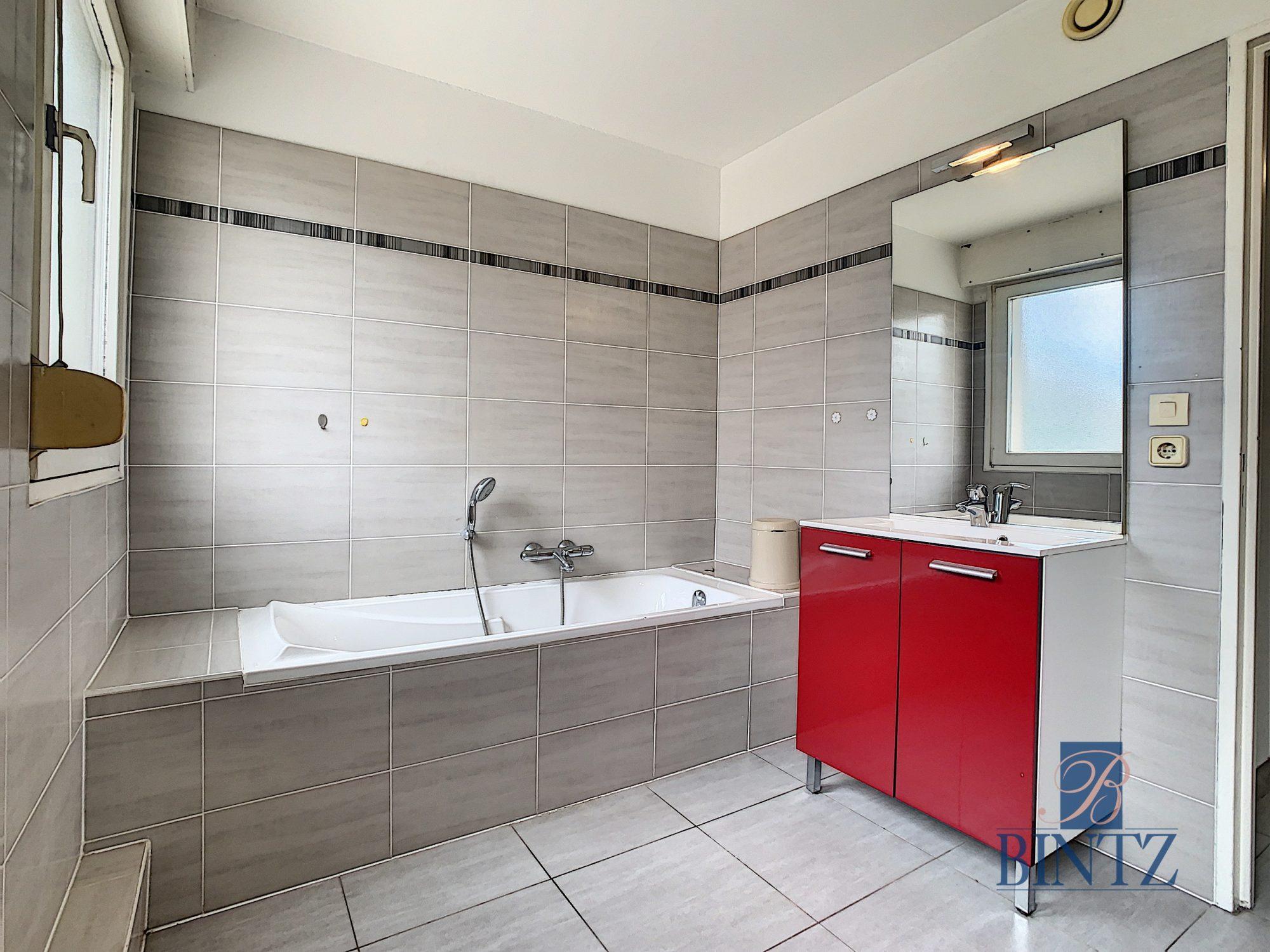 Appartement traversant 4 pièces 97,5m2 à Oberhausbergen - Devenez propriétaire en toute confiance - Bintz Immobilier - 9