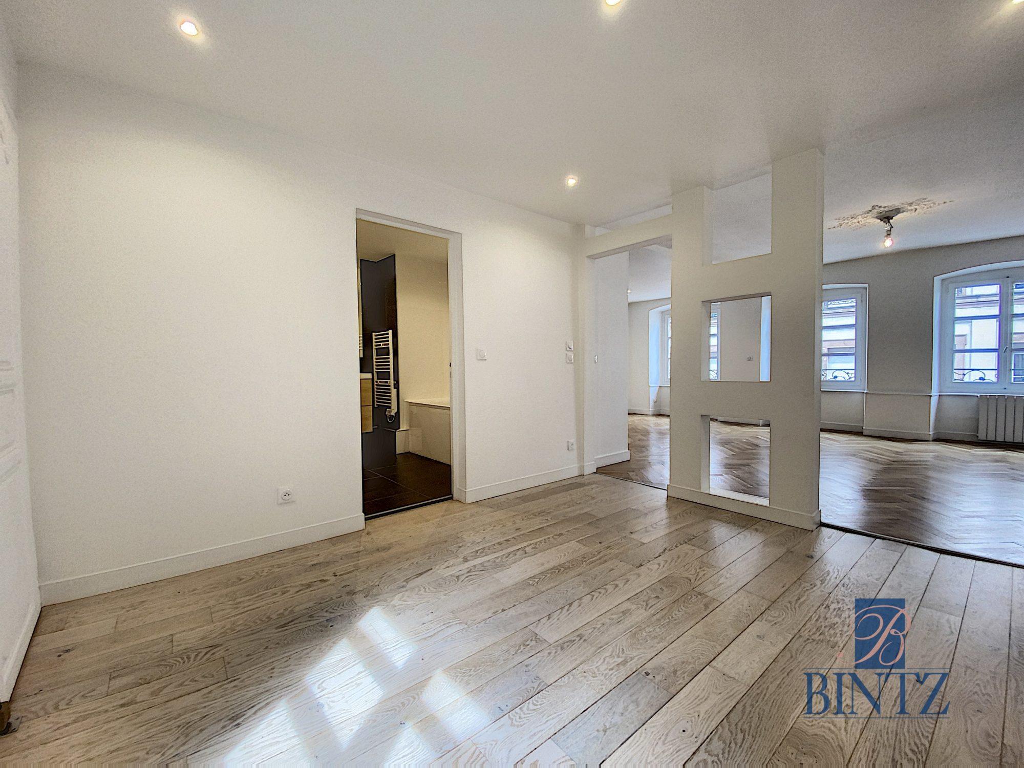 HYPER CENTRE – 4P ENTIÈREMENT RÉNOVÉ - Devenez propriétaire en toute confiance - Bintz Immobilier - 3