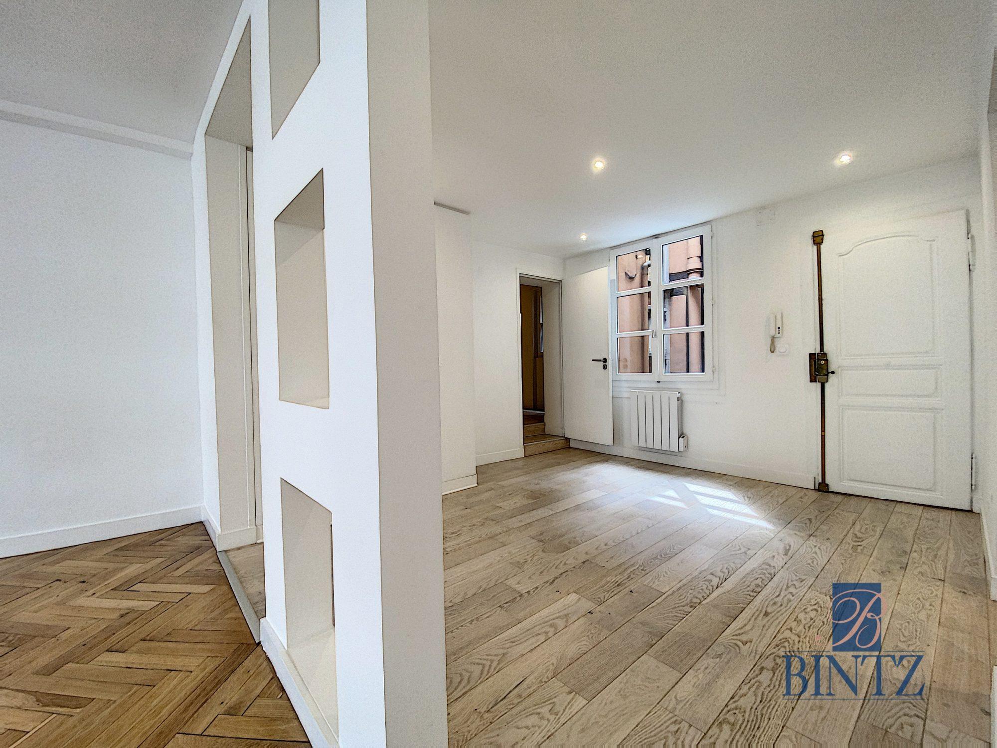 HYPER CENTRE – 4P ENTIÈREMENT RÉNOVÉ - Devenez propriétaire en toute confiance - Bintz Immobilier - 4