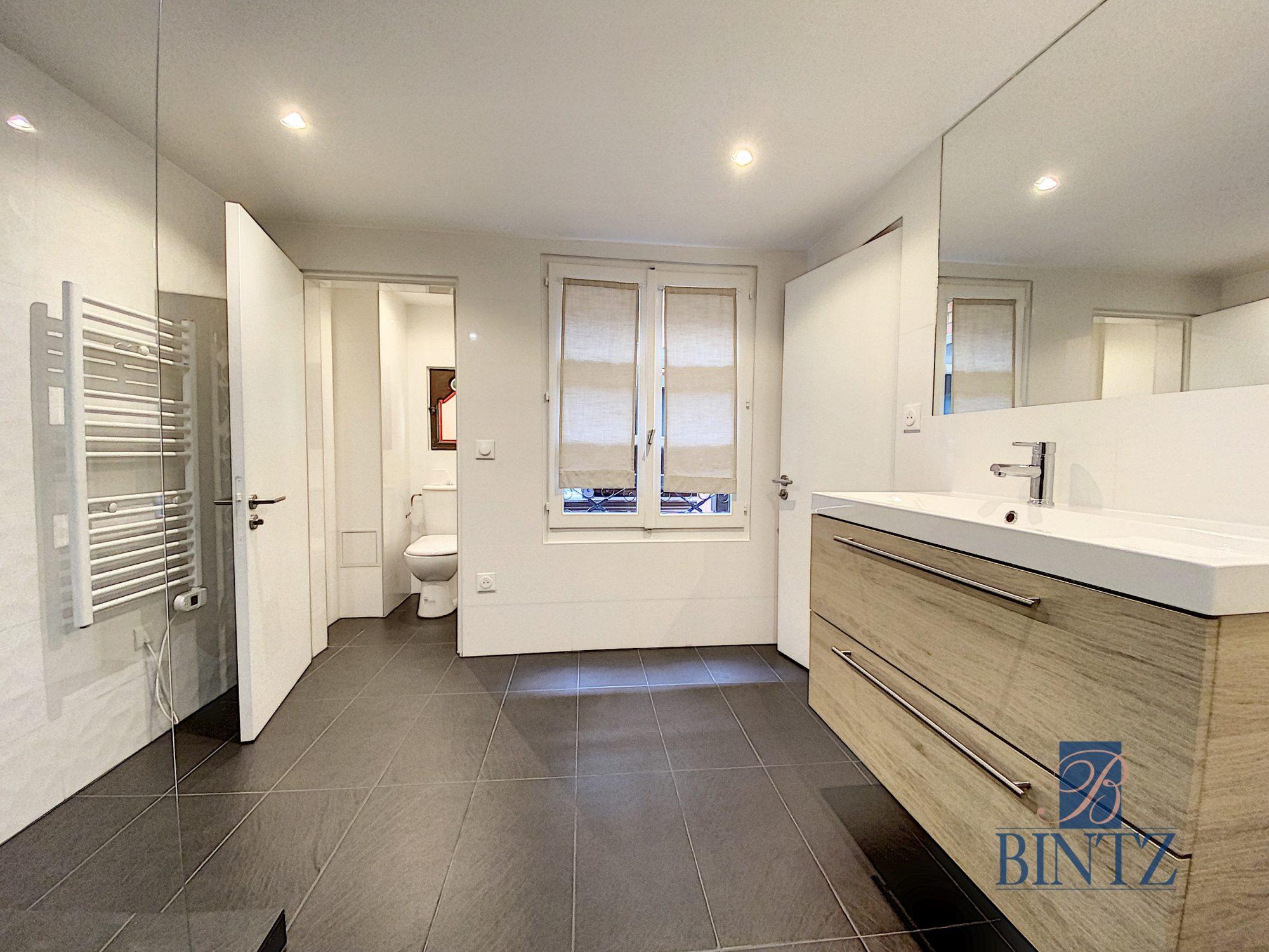 HYPER CENTRE – 4P ENTIÈREMENT RÉNOVÉ - Devenez propriétaire en toute confiance - Bintz Immobilier - 15