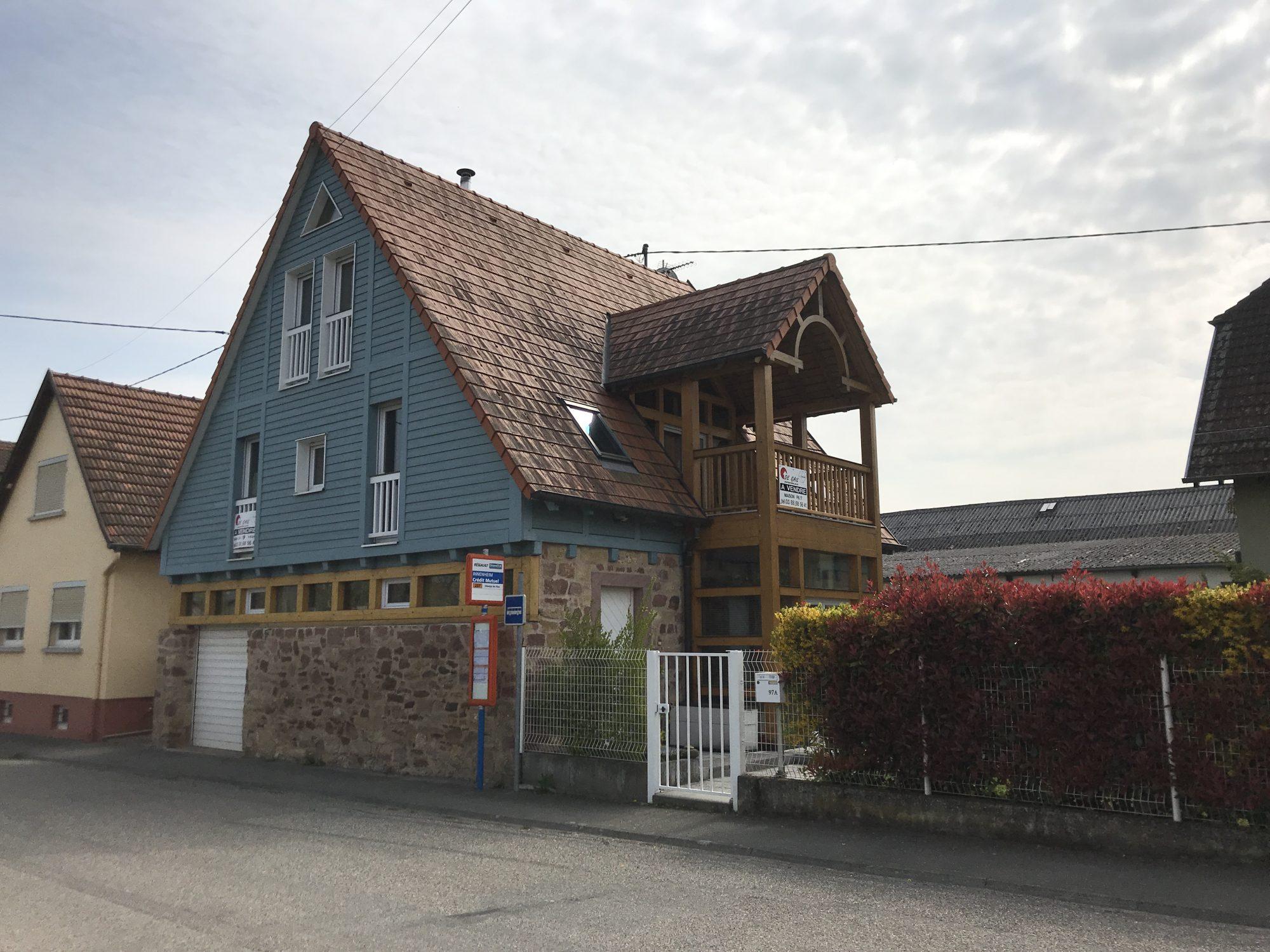 MAISON D'ARCHITECTE DE 7 PIÈCES - Devenez propriétaire en toute confiance - Bintz Immobilier - 12