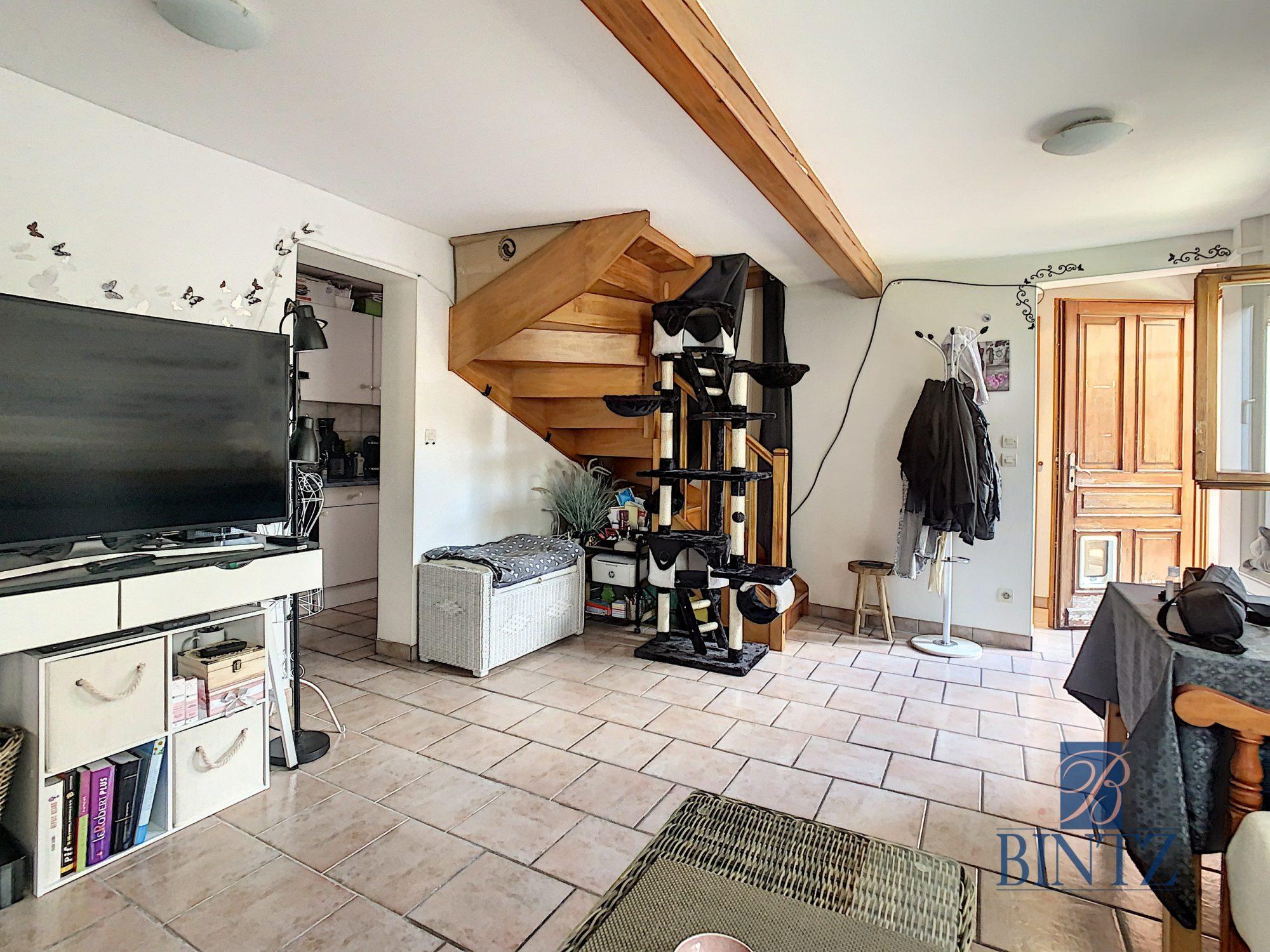 Pour investisseur : maison 2 pièces louée, avec garage fermé - Devenez propriétaire en toute confiance - Bintz Immobilier - 3