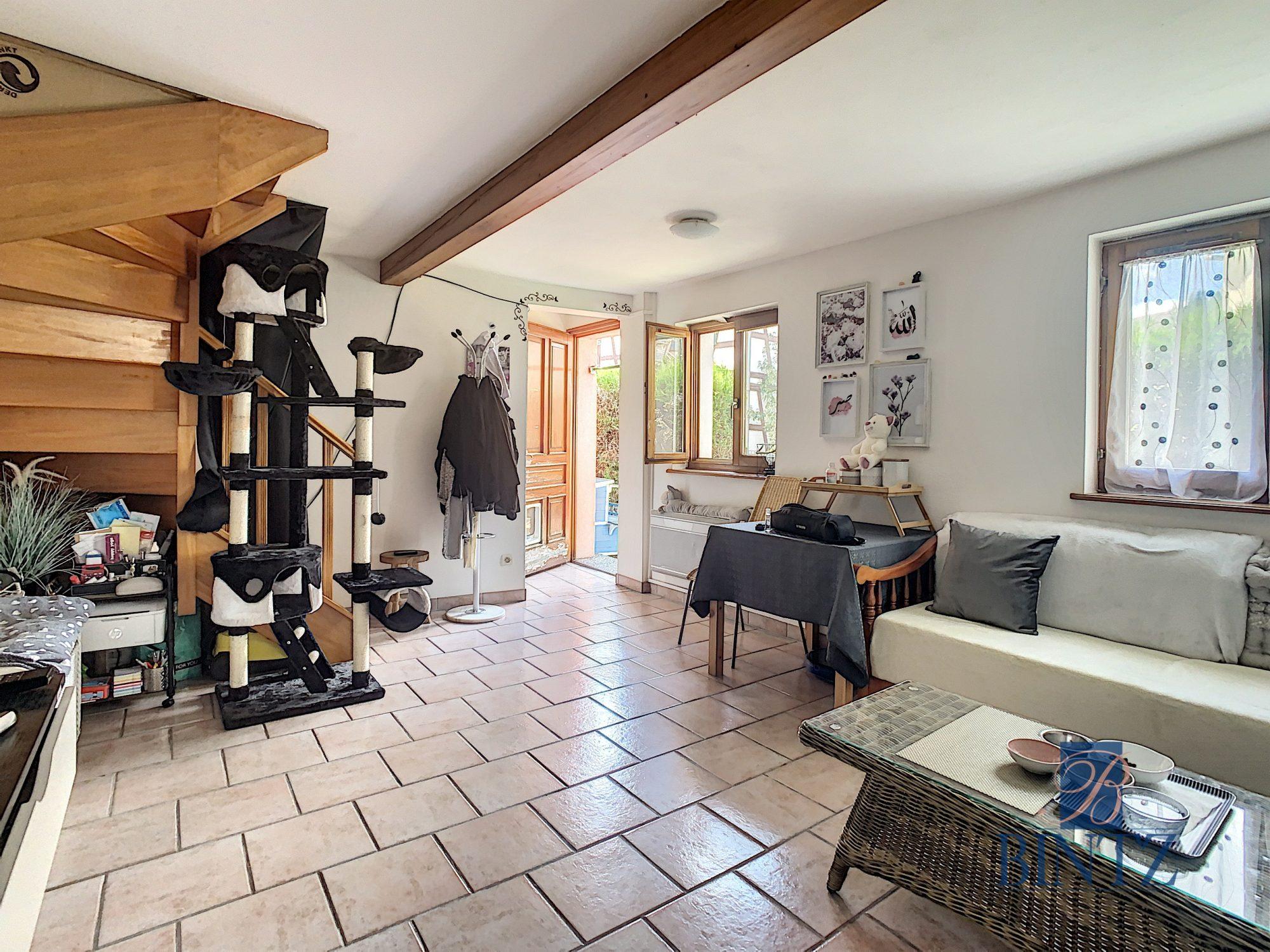 Pour investisseur : maison 2 pièces louée, avec garage fermé - Devenez propriétaire en toute confiance - Bintz Immobilier - 4