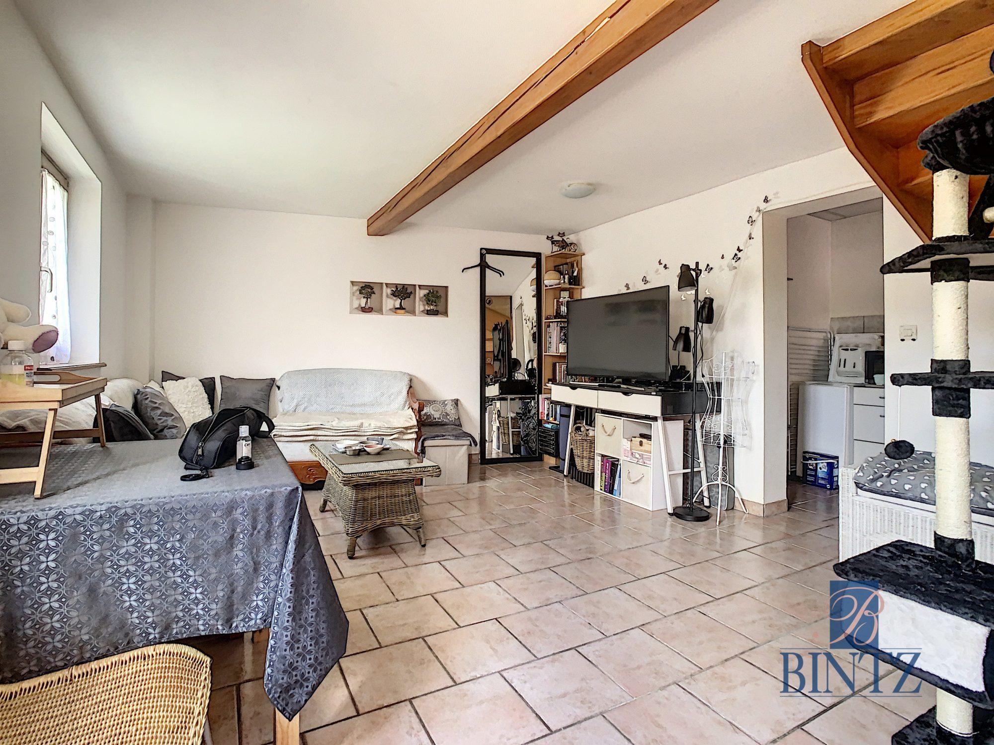 Pour investisseur : maison 2 pièces louée, avec garage fermé - Devenez propriétaire en toute confiance - Bintz Immobilier - 2