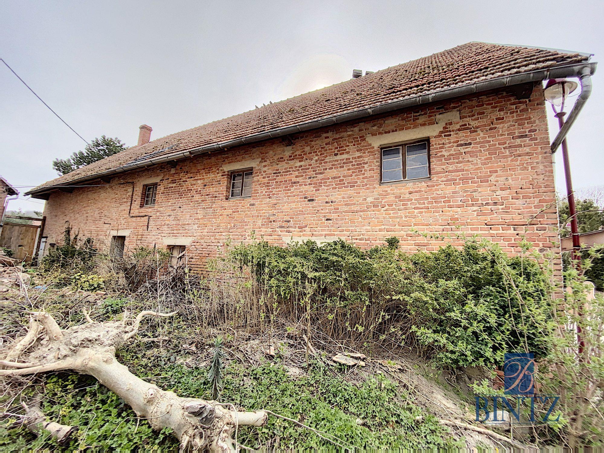 Grange de 200m2 à Gingsheim - Devenez propriétaire en toute confiance - Bintz Immobilier - 1