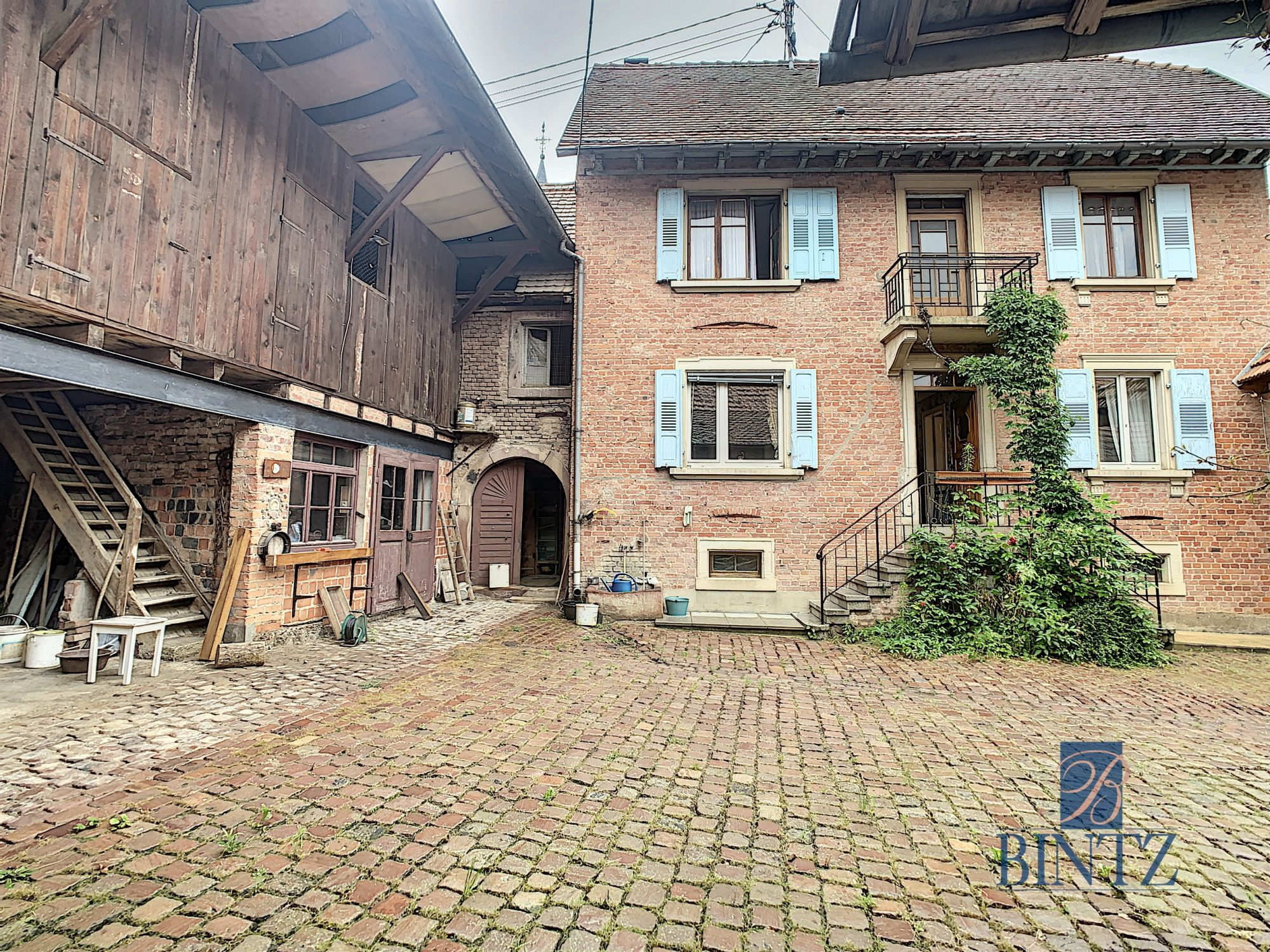 Corps de ferme à Gingsheim - Devenez propriétaire en toute confiance - Bintz Immobilier - 1