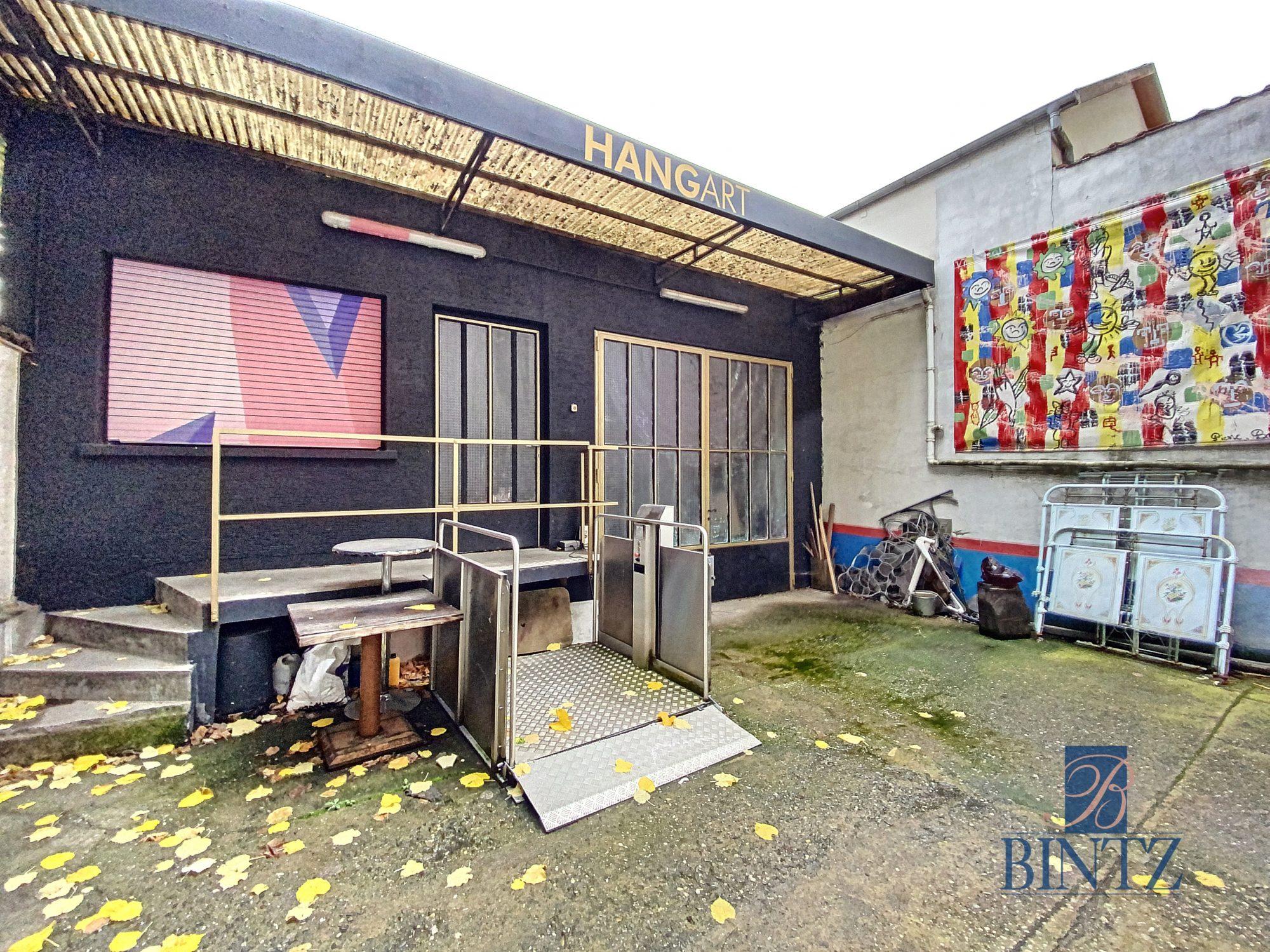 Hangar 440m2 aux portes de Strasbourg - Devenez propriétaire en toute confiance - Bintz Immobilier - 1