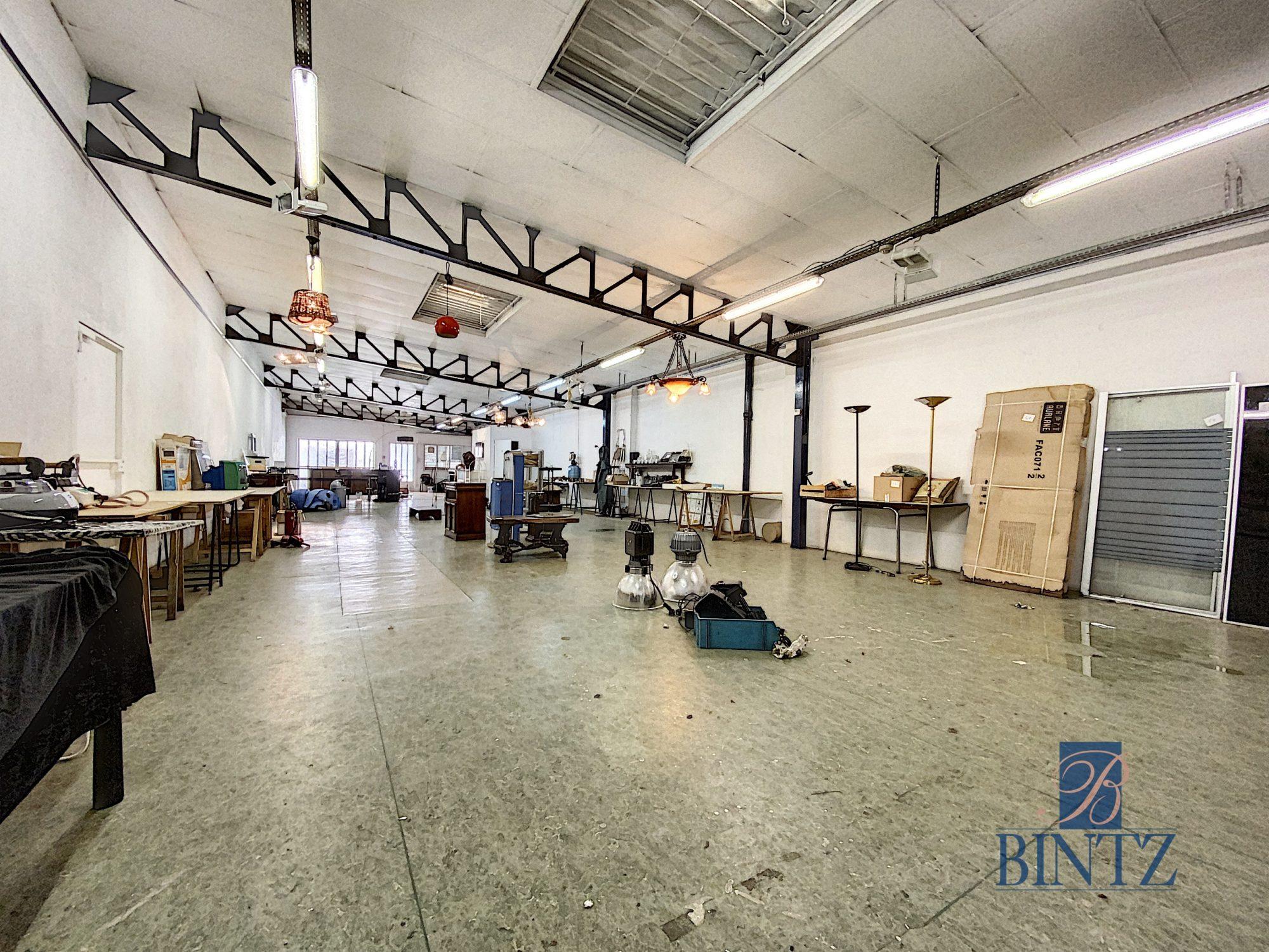Hangar 371m2 aux portes de Strasbourg - Devenez propriétaire en toute confiance - Bintz Immobilier - 4