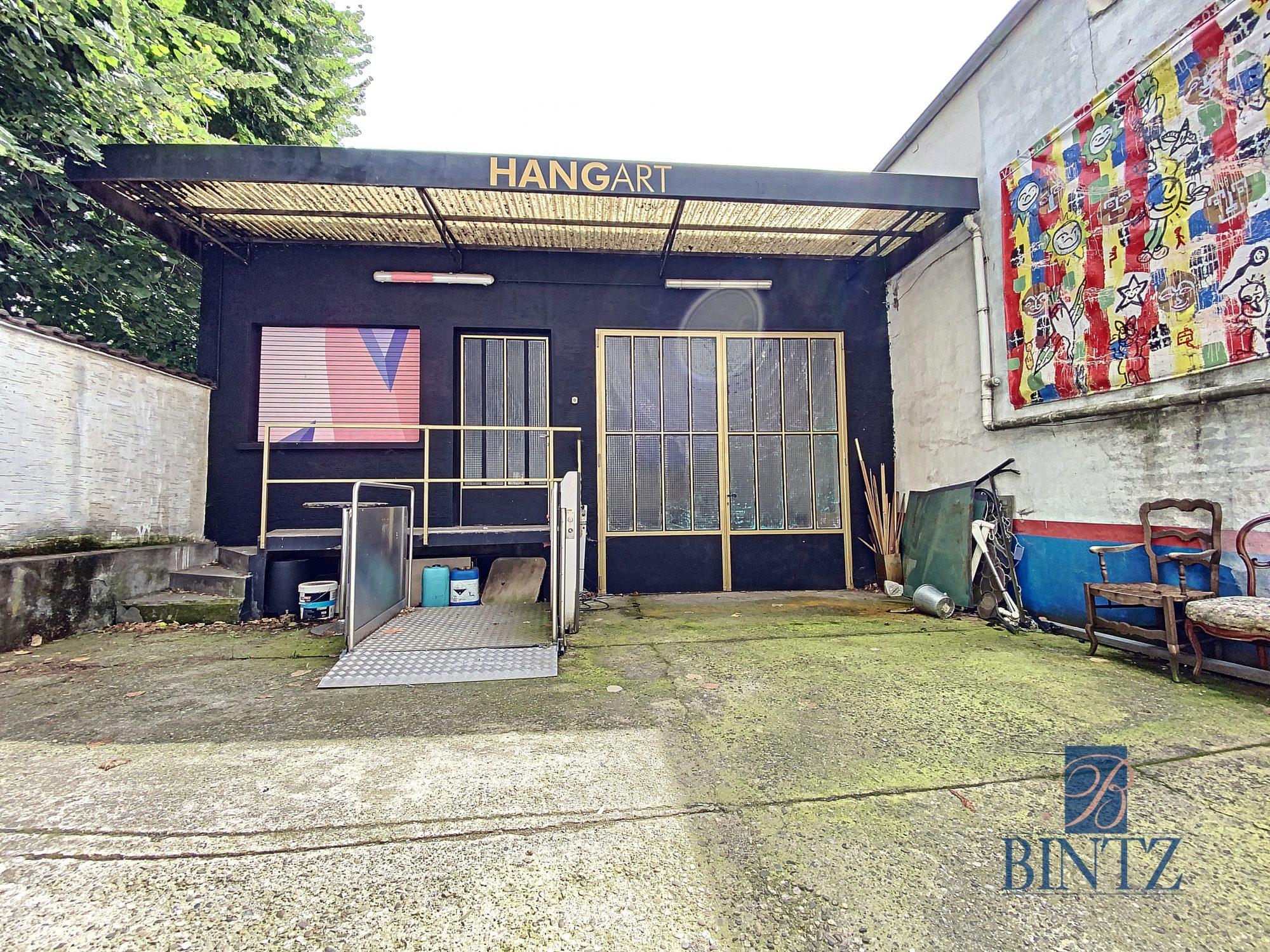 Hangar 371m2 aux portes de Strasbourg - Devenez propriétaire en toute confiance - Bintz Immobilier - 1