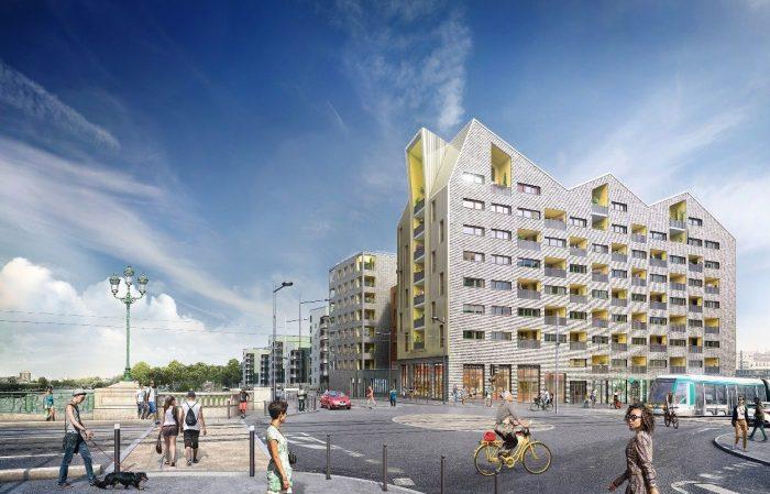 4 pièces  Saint-Denis  80 m² Appartement