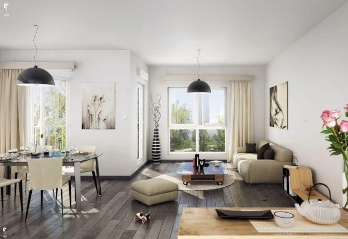 Fleury-Mérogis  Appartement 3 pièces 59 m²
