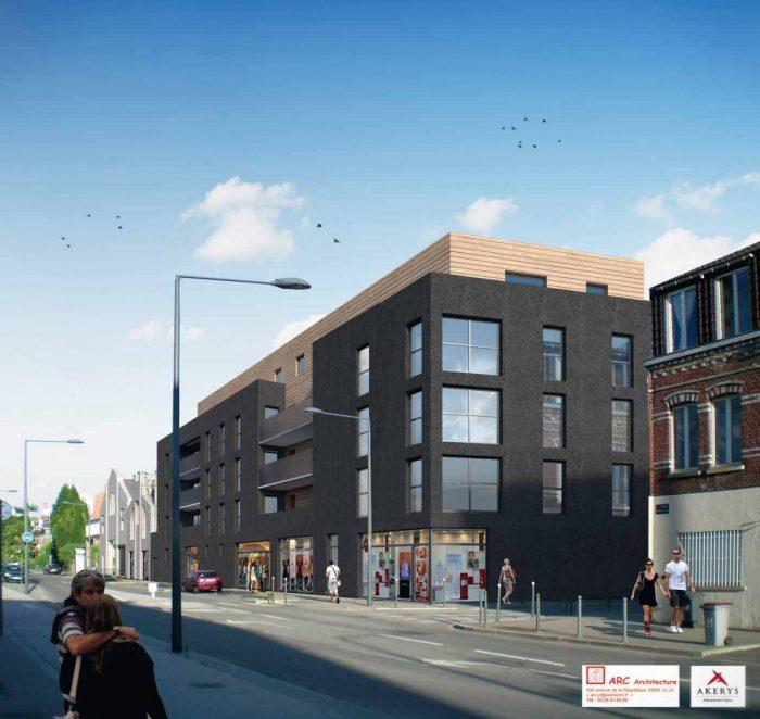 Appartement 63 m²  3 pièces LILLE LILLE CENTRE VILLE