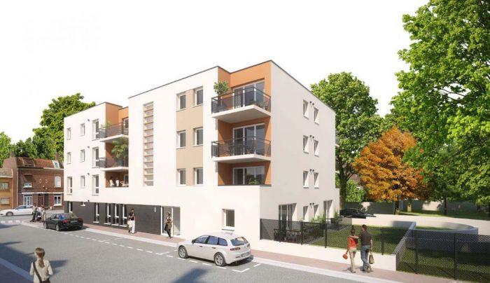 Appartement 2 pièces 43 m²  marquette lez lille lille