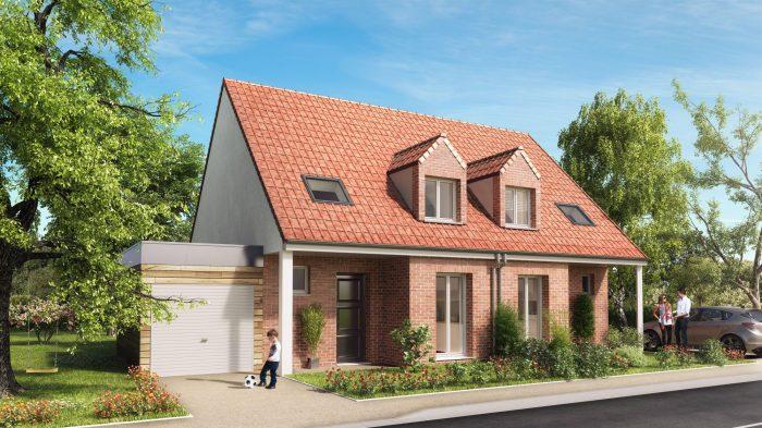 79 m² 4 pièces  SAILLY LABOURSE bethune Maison