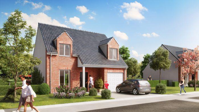 93 m² 5 pièces  SAILLY LABOURSE bethune Maison