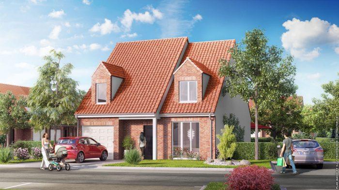Maison 113 m² 6 pièces  SAILLY LABOURSE bethune