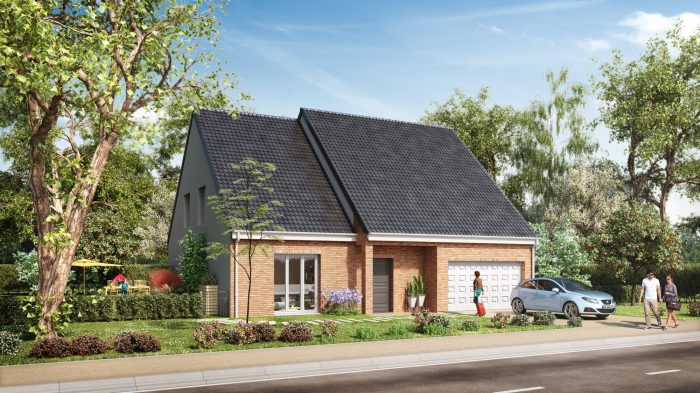 123 m² 7 pièces SAILLY LABOURSE bethune Maison