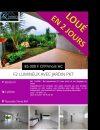 50 m² Appartement  2 pièces Nouméa 7eme KM
