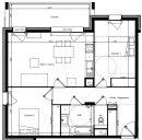 Appartement 67 m² Chambéry  3 pièces