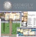 Appartement 96 m² 3 pièces Paris 75019