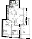 Appartement  La Tour-de-Salvagny  66 m² 3 pièces