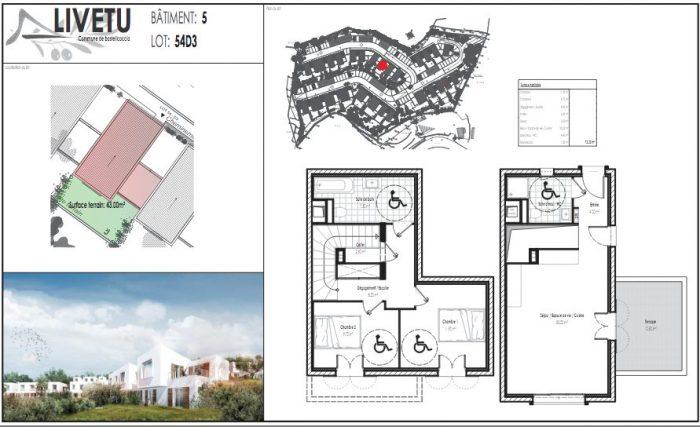 A Vendre Maison Mitoyenne 2 Cotes 3 Pieces Situee A Bastelicaccia 20129