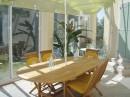 calme.  belles prestations maison  vue  piscine  contemporaine  4 chambres