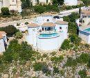 Charmante villa à la Cumbre del sol avec une vue mer paradisiaque.