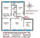 Appartement  Saint-Jacques-de-la-Lande Saint Jacques de la Lande 67 m² 4 pièces
