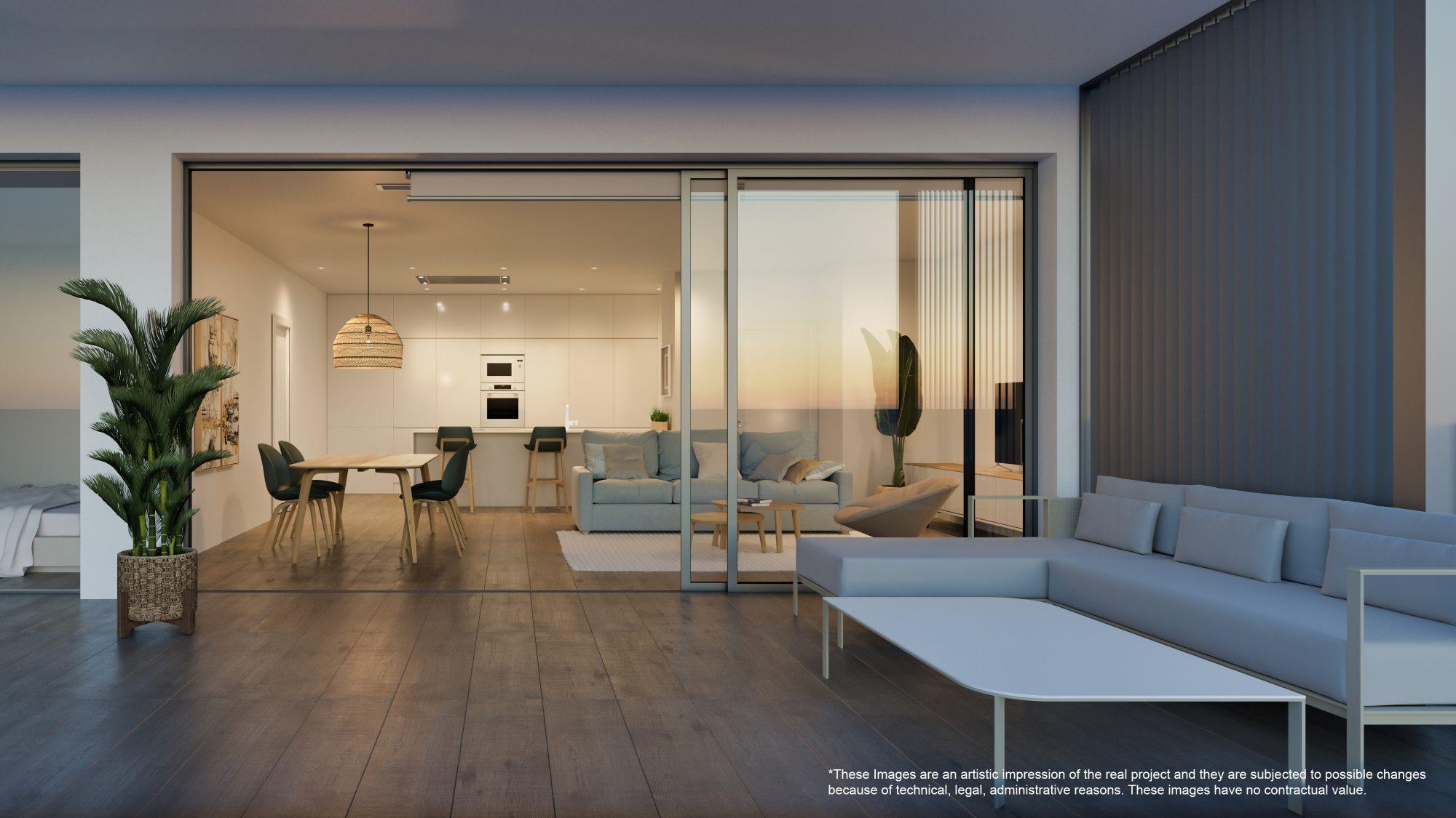 76 m² Appartement 4 pièces