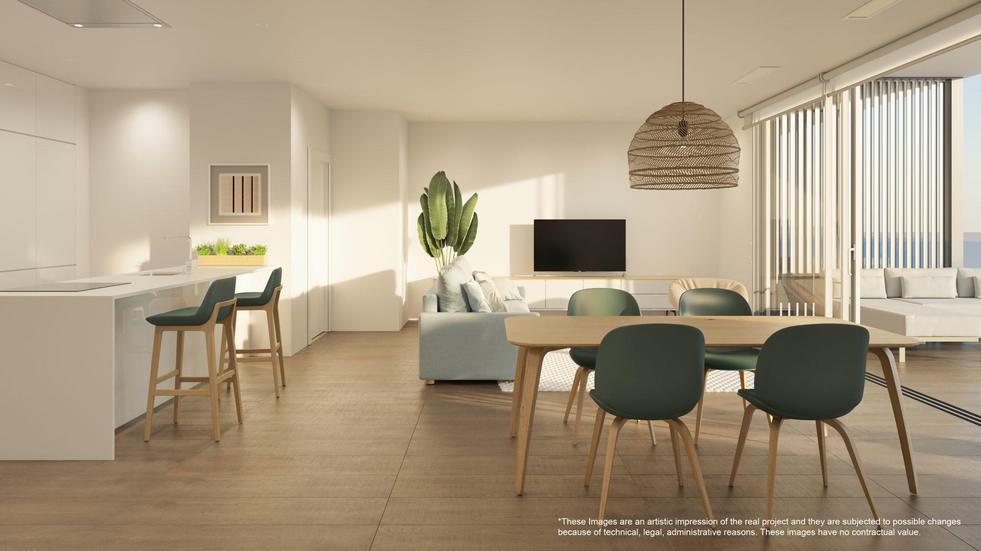 4 pièces 76 m²  Appartement