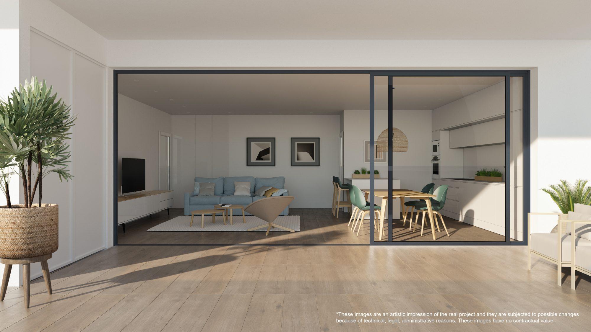 Appartement 4 pièces 76 m²