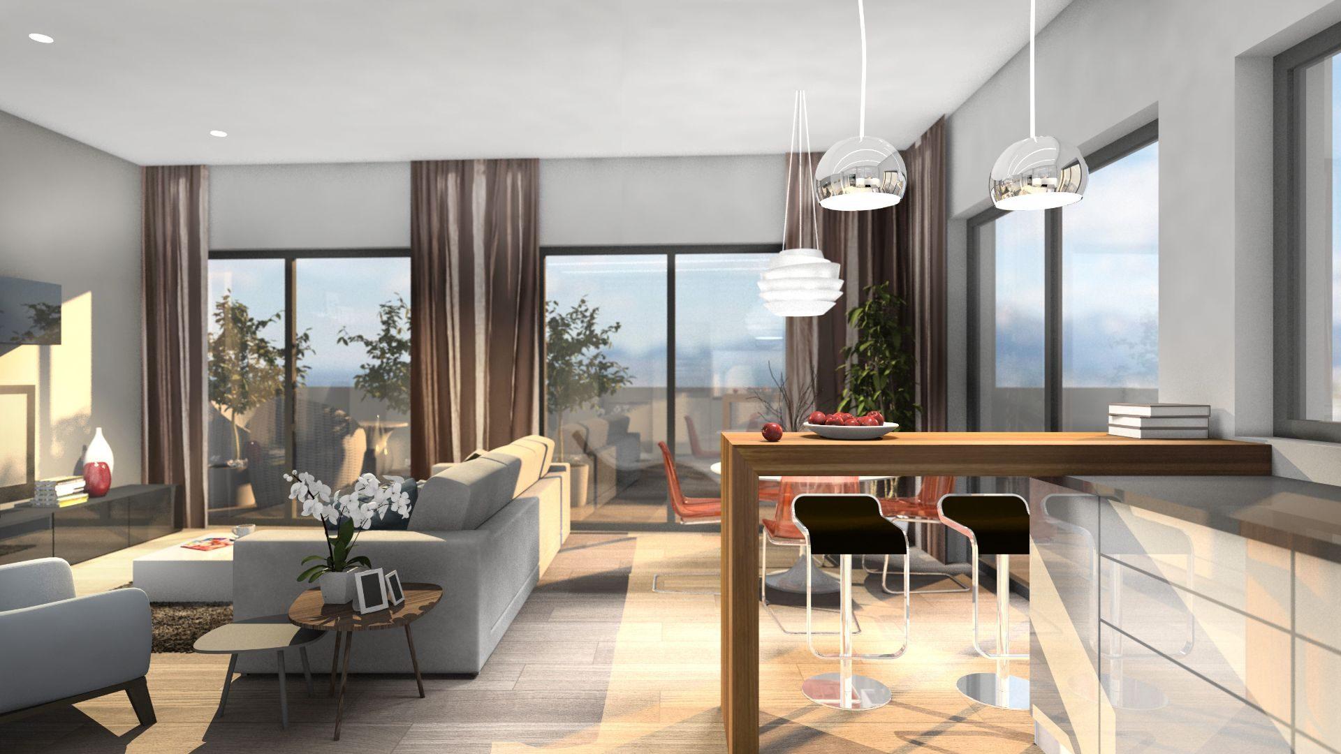 3 pièces Appartement 88 m²
