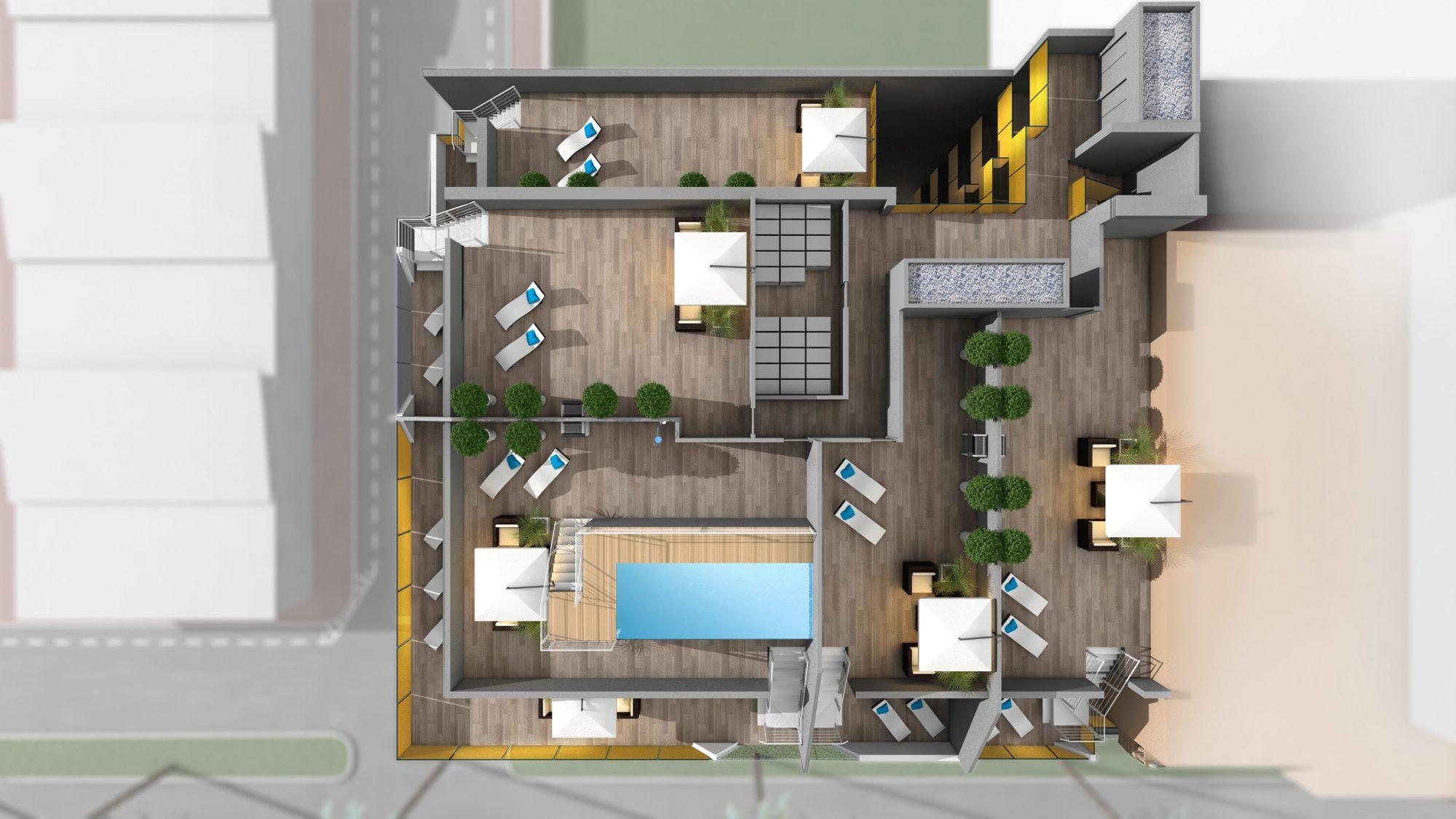 3 pièces 88 m² Appartement