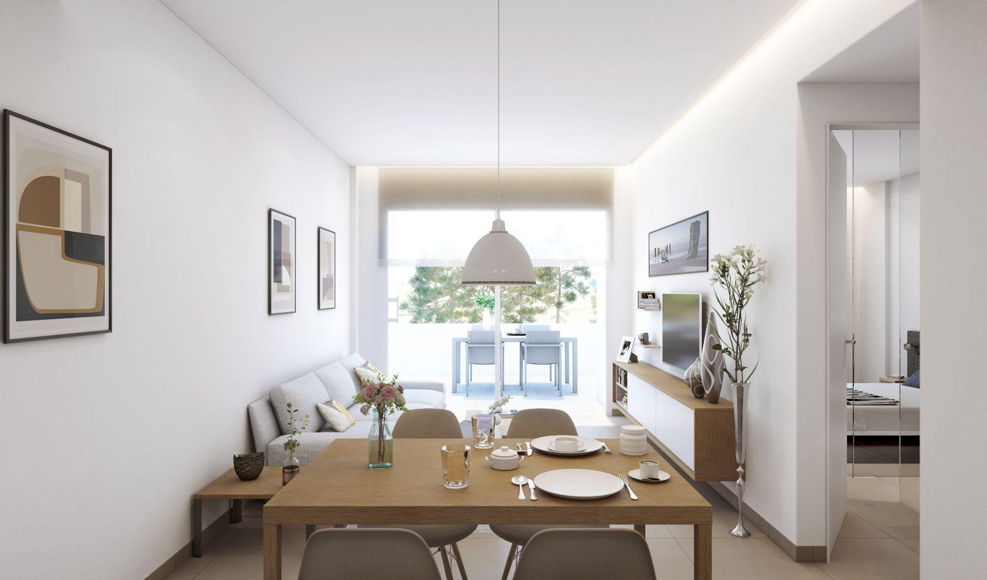 64 m² Appartement 3 pièces